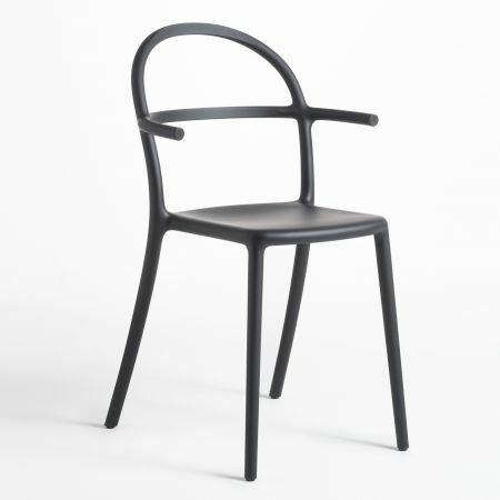 Kartell Generic C Black Chair