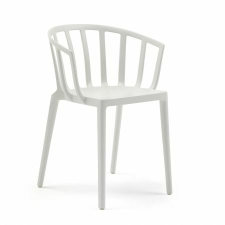 Kartell Venice White Matte Chair