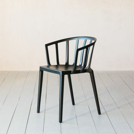 Kartell Venice Black Matte Chair