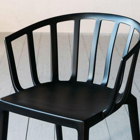 Kartell Venice Black Matte Chair