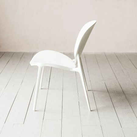 Kartell Be Bop White Chair
