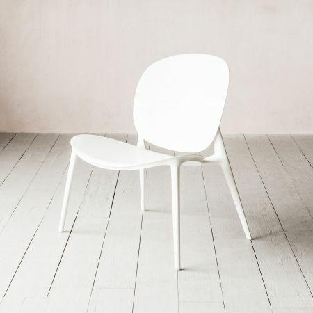 Kartell Be Bop White Chair