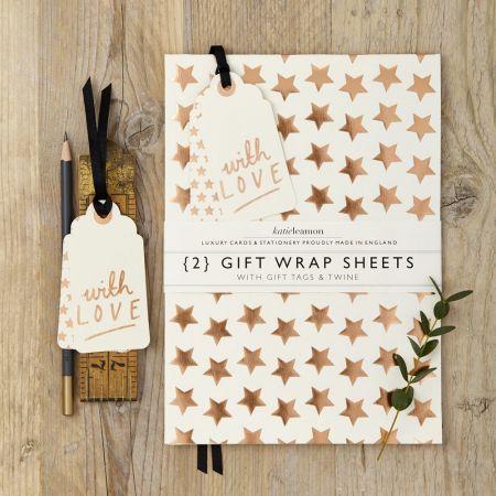 Katie Leamon Copper Foil Star Wrap - Thumbnail