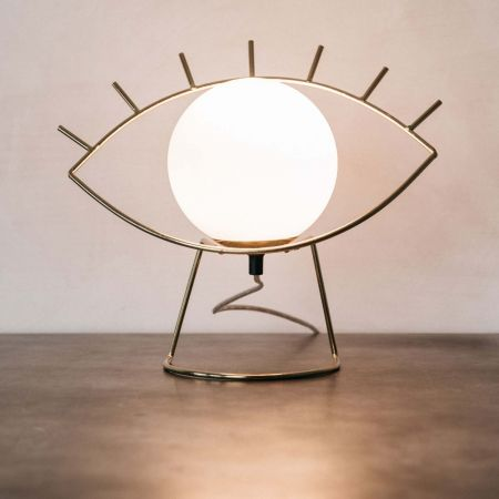 Golden Eye Lamp