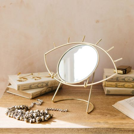 Golden Eye Table Mirror