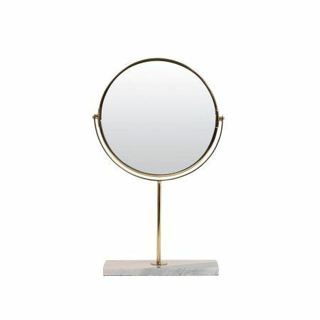 Pink Marble Base Mirror