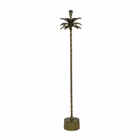 Bronze Palm Tree Floor Lamp