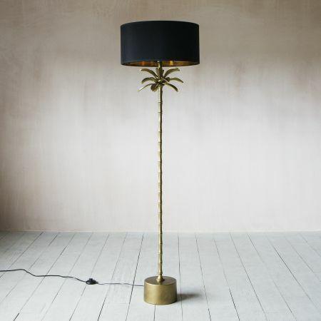 Bronze Palm Tree Floor Lamp
