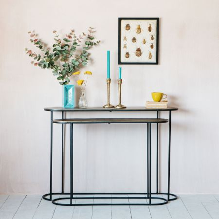 Jansen Set of Two Console Tables