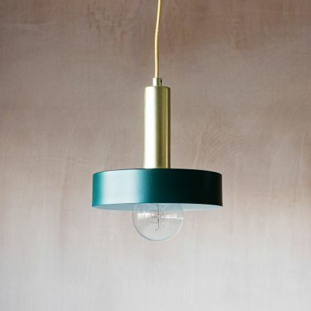 Lara Green Pendant Light