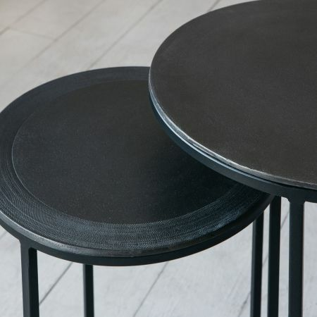Skylar Set of Two Round Side Tables