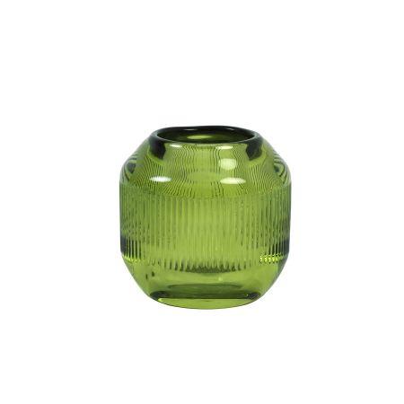 Olive Round Tealight Holder