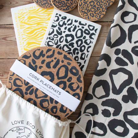 Leopard Print Clean Living Gift Set