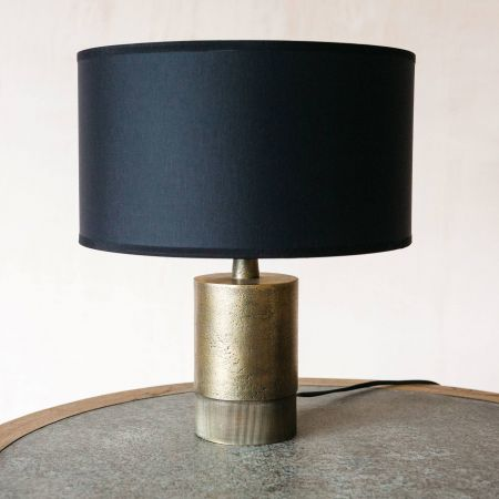 Benedict Short Bronze Table Lamp