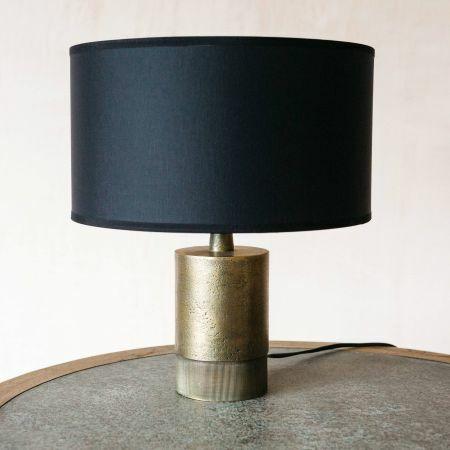 Benedict Short Bronze Table Lamp