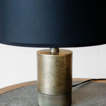 Benedict Short Bronze Bedside Table Lamp