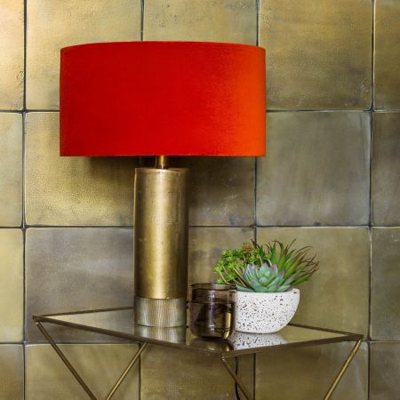 Benedict Tall Bronze Table Lamp