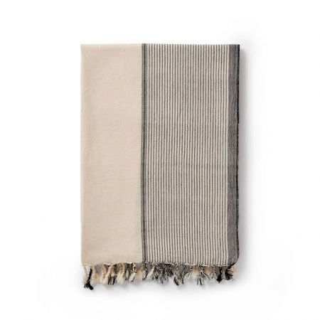 Black and Salt Turkish Towel