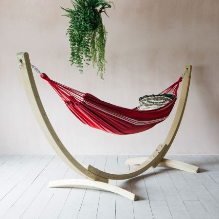 Seville Hammock with Wooden Stand