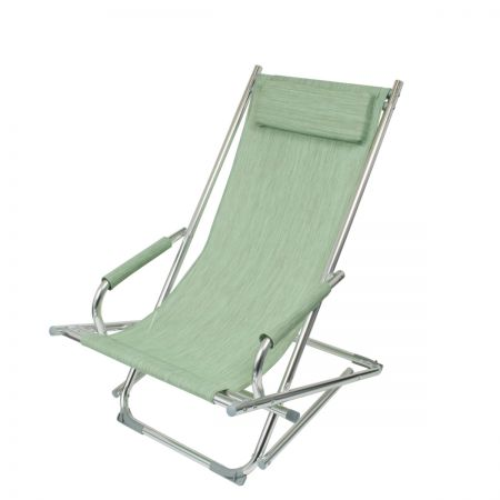 Sage Green Deck Chair
