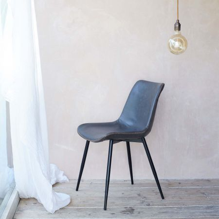 Novak Grey Chair