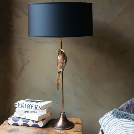 Perching Parrot Table Lamp