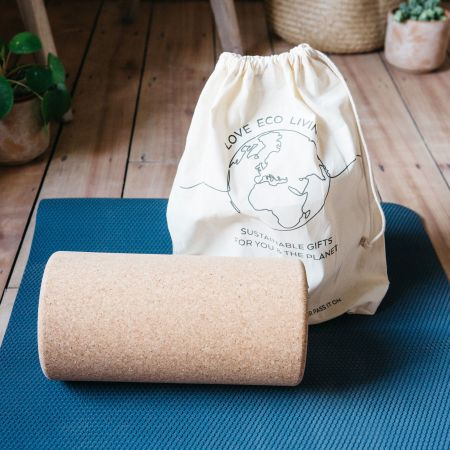 Large Cork Yoga Roller