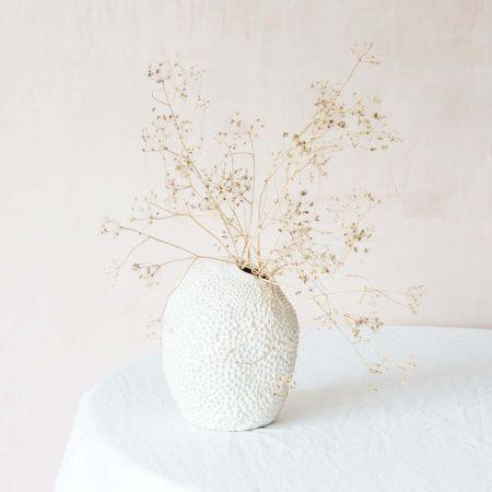 White Jackfruit Vase