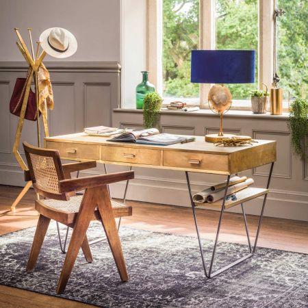 Erno Brass Mounted Desk