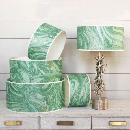 Makrana Emerald Lamp Shades