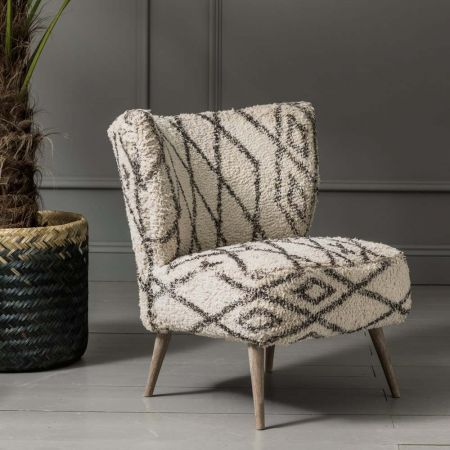 Mina Printed Chair