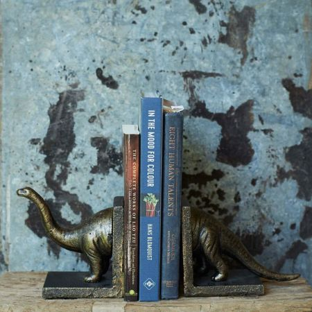Brontosaurus Bookends