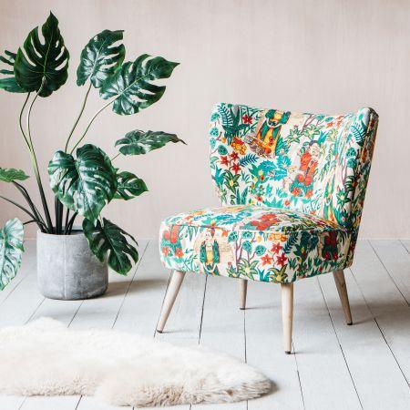 Alpana Mexicana Print Chair