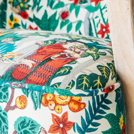 Lina Mexicana Print Armchair