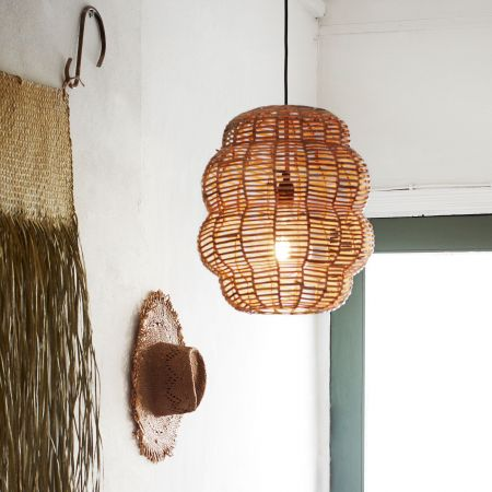 Bamboo Bubble Pendant