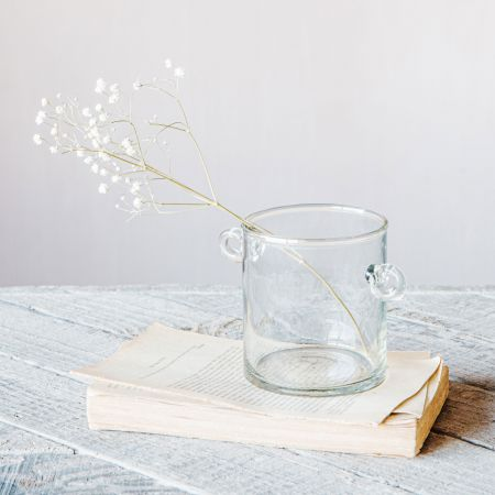Glass Jar with Handles