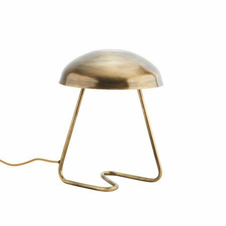 Antique Brass Hood Lamp