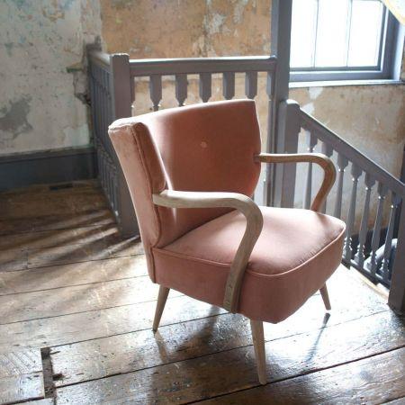 Lina Rose Velvet Armchair