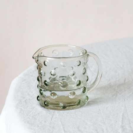 Small Dotty Glass Jug