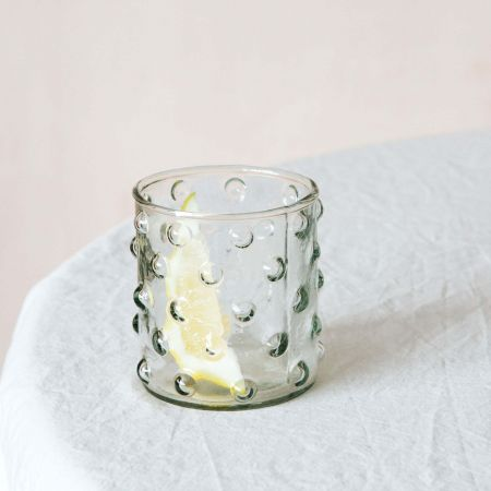 Dotty Glass Tumbler
