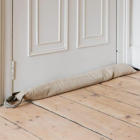 Linen Draught Excluder with Handle