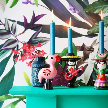 Mexicana Candle Holders