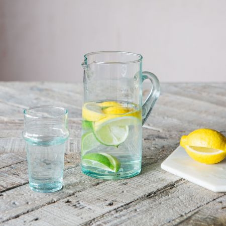 Clear Recycled Glass Tumbler