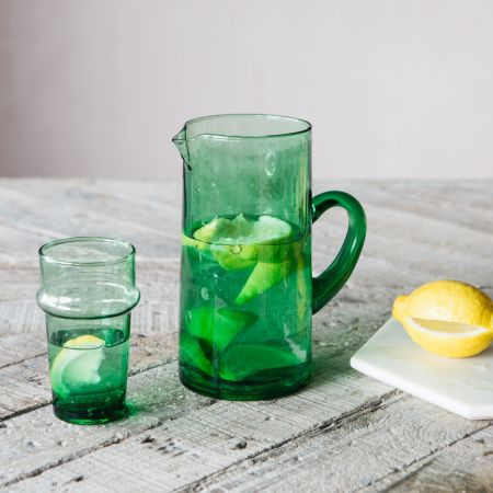 Green Recycled Glass Tumbler