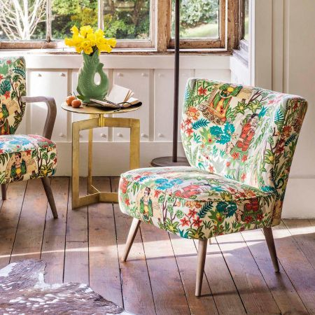Alpana Mexicana Print Chair