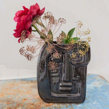 Large Jude Face Vase