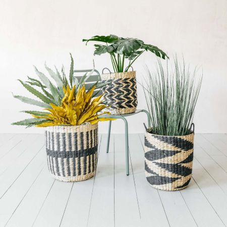 Nahla Wicker Baskets