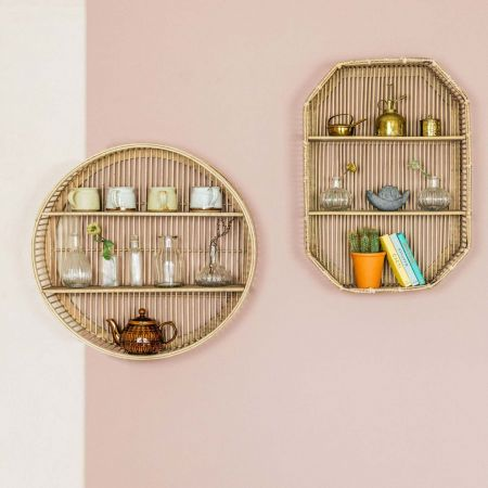 Bamboo Shelves