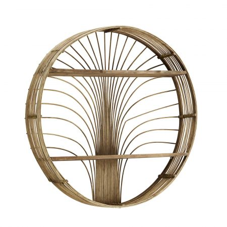 Palm Rattan Shelf