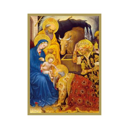 Set of Eight Adoration of the Magi Christmas Cards